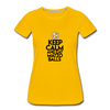 Matzo Balls Women's Premium T-Shirt - sun yellow