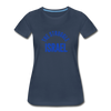 The Struggle Israel Women's Premium Organic T-Shirt - navy