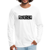 Mensch Men's Premium Long Sleeve T-Shirt - white