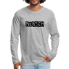 Mensch Men's Premium Long Sleeve T-Shirt - heather gray