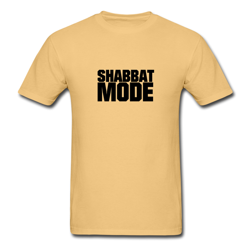Shabbat Mode Unisex ComfortWash Garment Dyed T-Shirt - light yellow