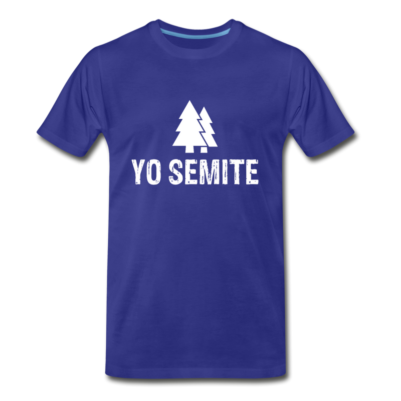 Yo Semite Men's Premium T-Shirt - royal blue