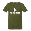Yo Semite Men's Premium T-Shirt - olive green