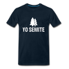 Yo Semite Men's Premium T-Shirt - deep navy