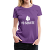 Yo Semite Women's Premium T-Shirt - purple