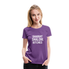 Shabbat Shalom Bitches Women's Premium T-Shirt - purple