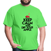 Keep Calm and Dip Your Apple Men's T-Shirt - kiwi