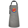 Jewish King Artisan Apron - gray/black