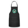 Jewish Beer Adjustable Apron - black