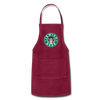 Jewish Beer Adjustable Apron - burgundy