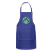 Jewish Beer Adjustable Apron - royal blue