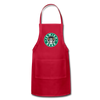 Jewish Beer Adjustable Apron - red