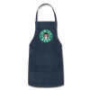 Jewish Beer Adjustable Apron - navy