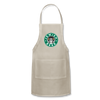 Jewish Beer Adjustable Apron - natural