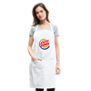 Jewish King Adjustable Apron - white