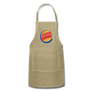 Jewish King Adjustable Apron - khaki