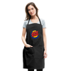 Jewish King Adjustable Apron - black