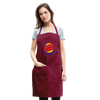 Jewish King Adjustable Apron - burgundy