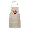 Jewish King Adjustable Apron - natural