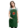 Jewish King Adjustable Apron - forest green
