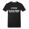 Shalom Is It Me You're Looking For Men's Premium T-Shirt - black