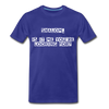 Shalom Is It Me You're Looking For Men's Premium T-Shirt - royal blue