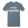 Shalom Is It Me You're Looking For Men's Premium T-Shirt - steel blue