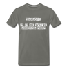 Shalom Is It Me You're Looking For Men's Premium T-Shirt - asphalt gray