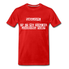 Shalom Is It Me You're Looking For Men's Premium T-Shirt - red