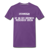 Shalom Is It Me You're Looking For Men's Premium T-Shirt - purple