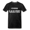 Shalom Is It Me You're Looking For Men's Premium T-Shirt - charcoal gray