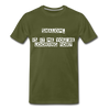 Shalom Is It Me You're Looking For Men's Premium T-Shirt - olive green