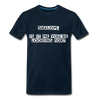 Shalom Is It Me You're Looking For Men's Premium T-Shirt - deep navy
