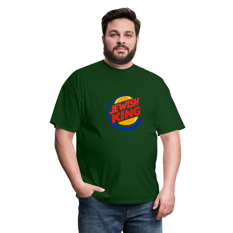 Jewish King Men's T-Shirt - forest green