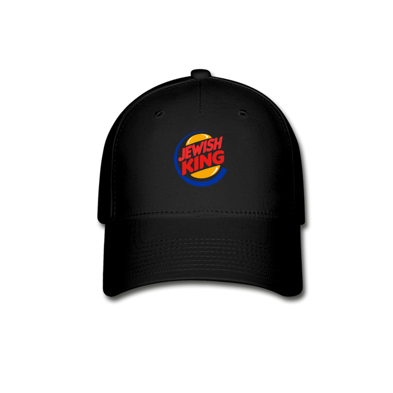 Jewish King Baseball Cap - black