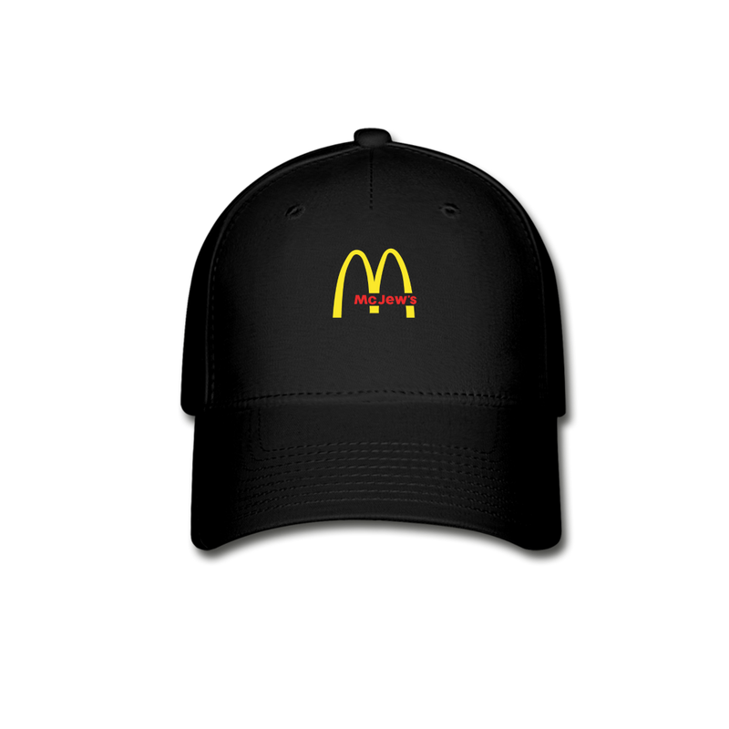Mc Jew's Baseball Cap - black