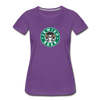 Jewish Beer Women's Premium T-Shirt - purple