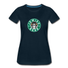 Jewish Beer Women's Premium T-Shirt - deep navy