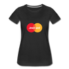 Jew Card Women's Premium T-Shirt - black