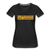 No Place For Anti Semitism Women's Premium Organic T-Shirt - black