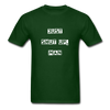 Just Shut Up Man Unisex Classic T-Shirt | Fruit of the Loom - forest green