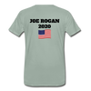 Joe Rogan Moderator Men's Premium T-Shirt - steel green