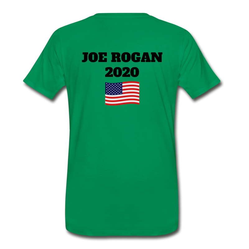 Joe Rogan Moderator Men's Premium T-Shirt - kelly green
