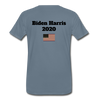 Just Shut Up Man Men's Premium T-Shirt - steel blue