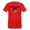 Just Shut Up Man Men's Premium T-Shirt - red