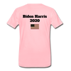 Just Shut Up Man Men's Premium T-Shirt - pink