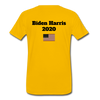 Just Shut Up Man Men's Premium T-Shirt - sun yellow