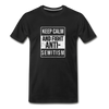 Fight Antisemitism Men's Premium T-Shirt - black