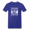 Fight Antisemitism Men's Premium T-Shirt - royal blue
