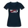 Make Racism Wrong Again Women's Premium T-Shirt - deep navy